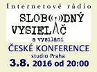 Česká Konference, živě 3.8.2016