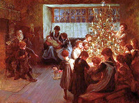 Albert Chevallier Tayler (1862-1925) - Vánoční stromeček