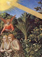 Fra Angelico (1395–1455) - Vyhnání z ráje