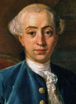 Giacomo Casanova, portrét z roku 1760 od Antona Raphaela Mengse