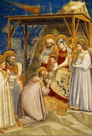 Giotto di Bondone (1266-1337) - Klanění Tří králů