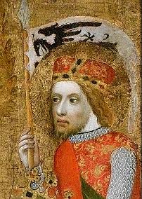 Svatý Václav, detail z Votivního obrazu Jana Očka z Vlašimi.