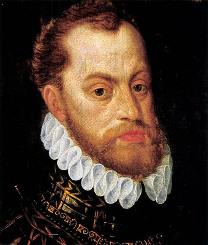 Rudolf II., portrét z období kolem roku 1580