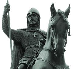 Pomník svatého Václava na Václavském náměstí v Praze
