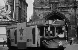 Předvolební agitace KSČ, květen 1946