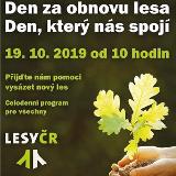 Den za obnovu lesa - 19-10-2019, ČR