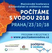 Konference Počítáme s vodou 2018, Praha - 23.10.
