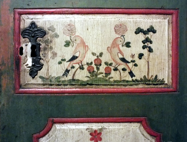 Dřevěná truhla - Muzeum Vysoké nad Jizerou