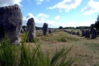 Megalitické řady v Carnacu