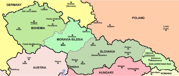 Československo, 1918-1938