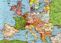 Politická mapa Evropy, 1923