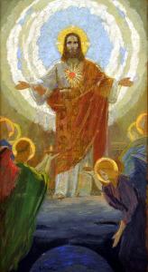 Ježíš Kristus na obraze Gebharda Fugela (1863-1939)