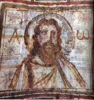 Nástěnná malba Krista, 4. stol.