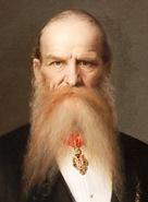 Josef Hlávka, portrét od Václava Brožíka