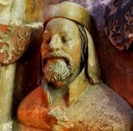 Karel IV., busta v katedrále svatého Víta v Praze, dílna Petra Parléře 1375-1378
