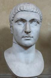 Konstantin I. - mramorová busta (4. stol.)
