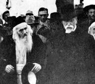 Prezident Masaryk v Jeruzalémě (1927)