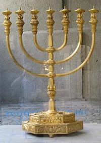 Menora připravená pro Třetí Chrám v Jeruzalémě