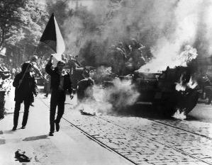 Praha, srpen 1968