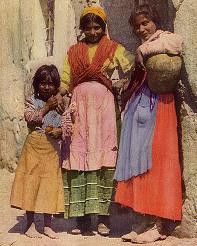 Romové ve Španělsku (fotografie z roku 1917)