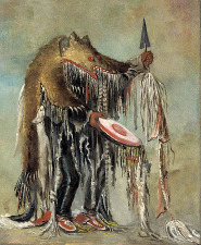 George Catlin (1796–1872) - Šaman
