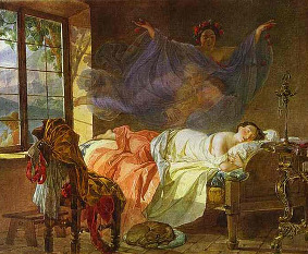 Obraz ruského malíře Karla Briullova (1799–1852)