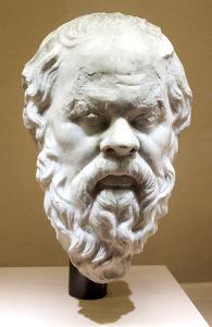 Sókratés, busta z pol. 1. stol.