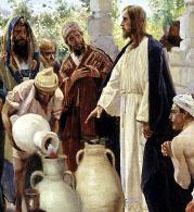 Vladimír Makovský (1846-1920) - Zázrak v Káni Galilejské