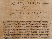 Koptský gnostický rukopis ze 4. stol, II. kodex z Nag Hammádí (NHC-II)