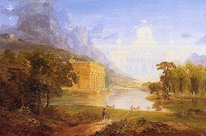 Thomas Cole (1801-1848) - Poutníkova cesta