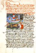 Vita Caroli, iluminovaný rukopis z roku 1472
