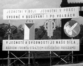 Společná agitace stran Národní fronty, 1946